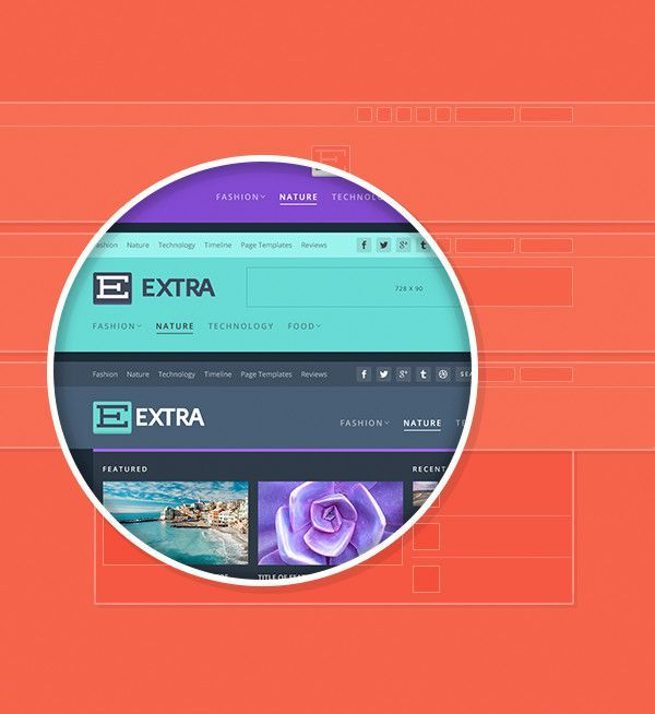 tema de WordPress Extra
