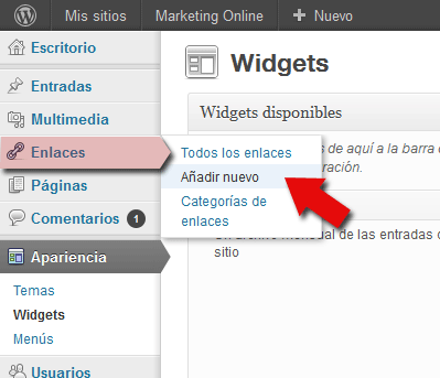 Cómo conseguir enlaces DoFollow de alto Page Rank - crear los backlinks