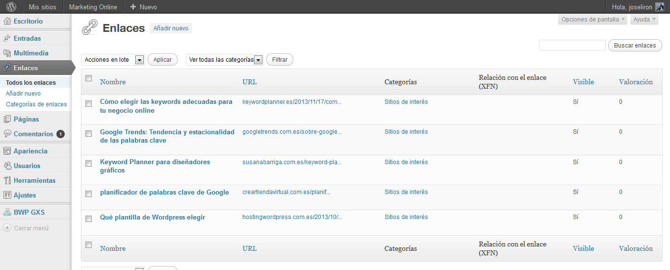 Cómo conseguir enlaces DoFollow de alto Page Rank - lista backlinks