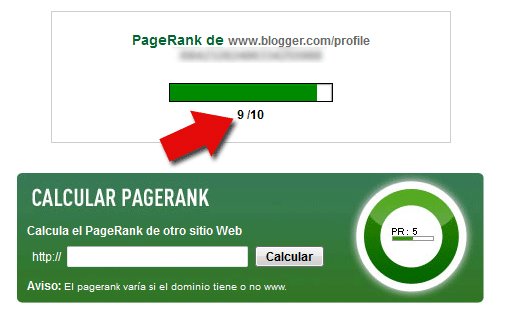 Conseguir backlinks Page Rank alto - pr9
