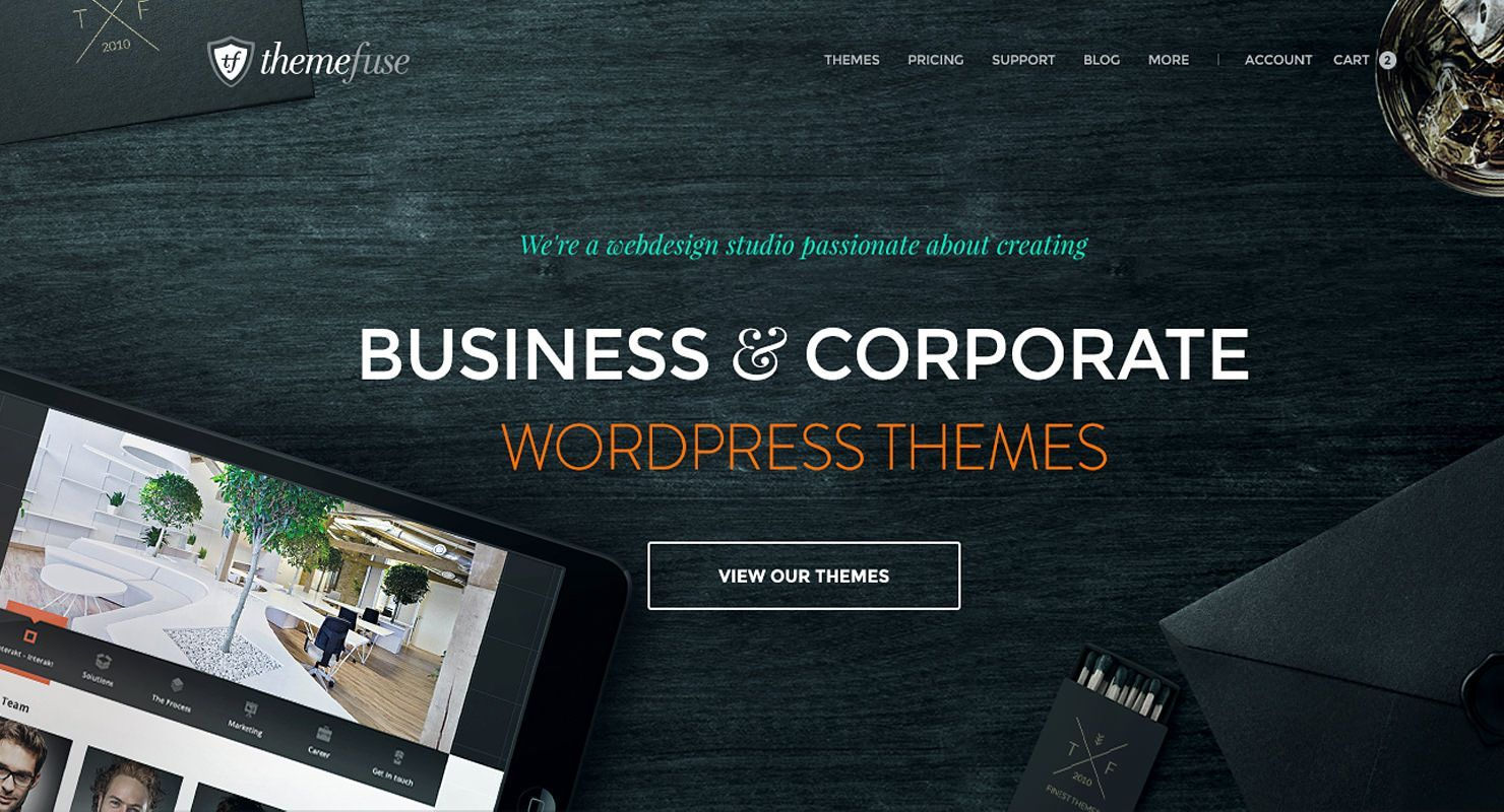 plantillas wordpress themefuse