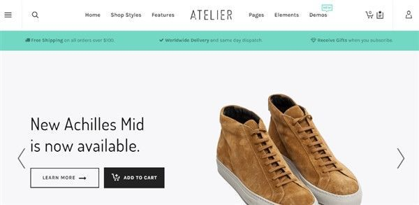 top wordpress themes para tienda online con woocommerce