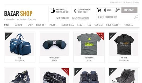 Themes WordPress WooCommerce mejores