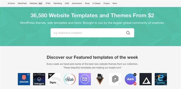 themeforest plantillas para wordpress