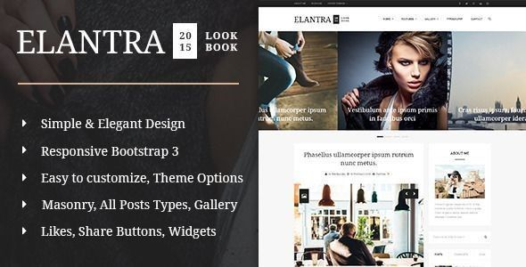 blog wp theme