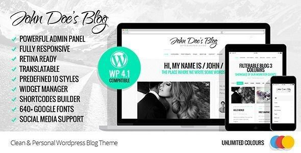 temas wordpress blog personal
